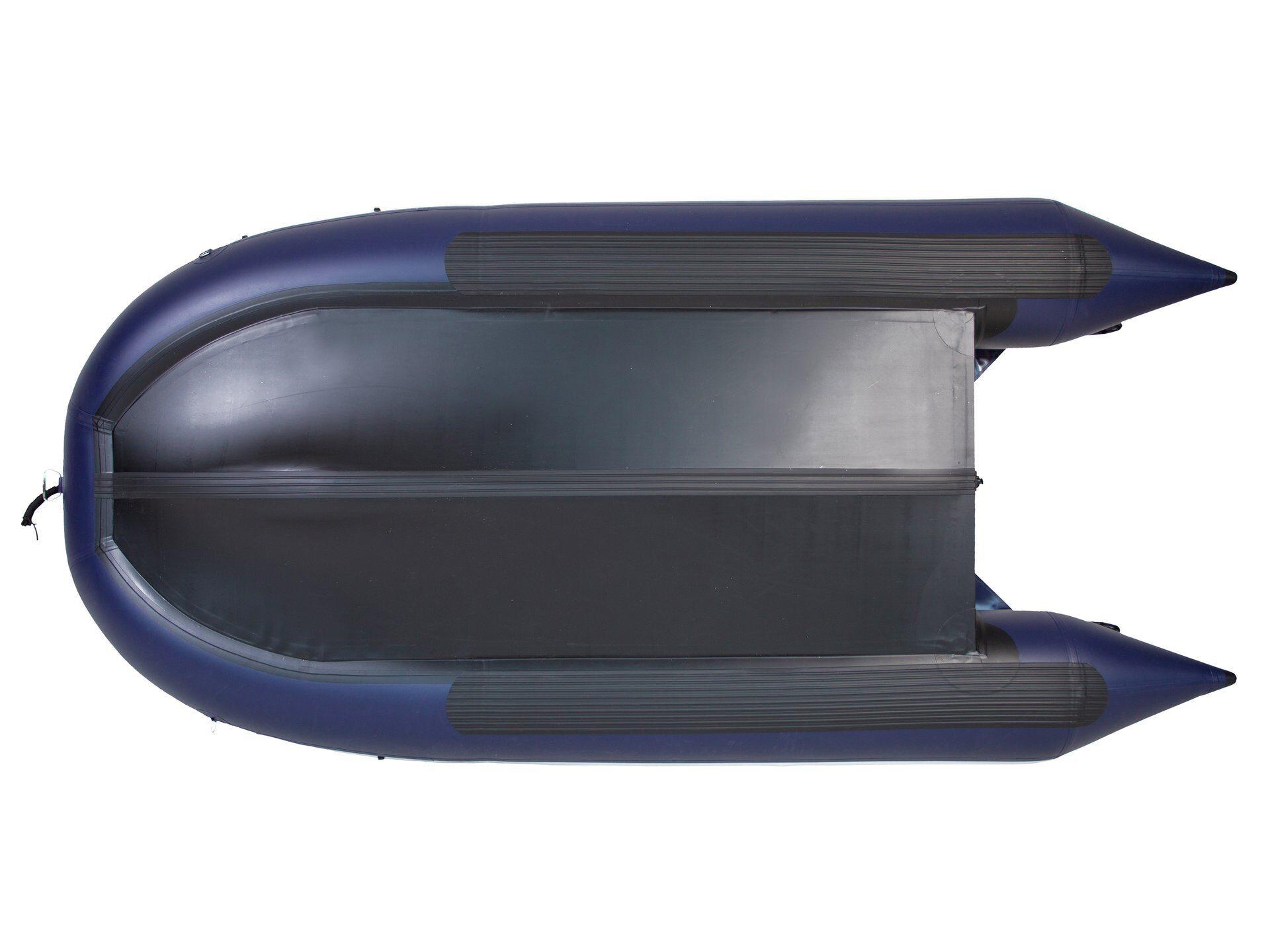 Моторная лодка ПВХ GLADIATOR D 400 AL FB с фальшбортом