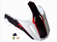Козырек для шлема CROSS TOURER ADVENTURE WHITE BLACK