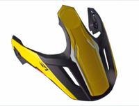Козырек для шлема CROSS TOURER ADVENTURE WHITE YELLOW BLACK